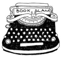 Book Slam Typewriter Logo